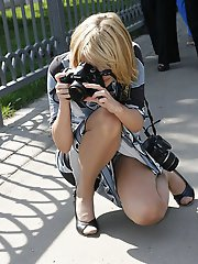 5 pictures - Upskirt sniper gallery