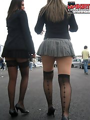 12 pictures - Accidental and voyeur up skirts. Hot upskirt images