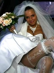 21 pictures - A bride in XXX photos