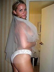 9 pictures - Gallery of Bride In Lingerie On Bed